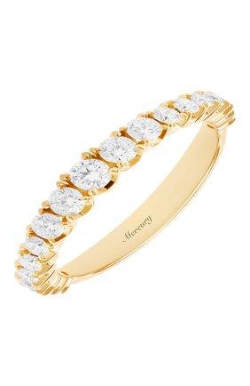 Женские кольцо MERCURY бесцветного цвета, арт. MR12881/RG/19RD | Фото 1 (Материал сплава: Розовое золото; Драгоценные камни: Бриллианты)