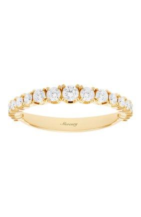 Женские кольцо MERCURY бесцветного цвета, арт. MR12881/RG/19RD | Фото 2 (Материал сплава: Розовое золото; Драгоценные камни: Бриллианты)