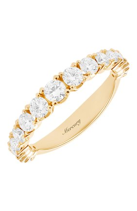 Женские кольцо MERCURY бесцветного цвета, арт. MR12881/RG/17RD | Фото 1 (Материал сплава: Розовое золото; Драгоценные камни: Бриллианты)