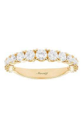 Женские кольцо MERCURY бесцветного цвета, арт. MR12881/RG/17RD | Фото 2 (Материал сплава: Розовое золото; Драгоценные камни: Бриллианты)