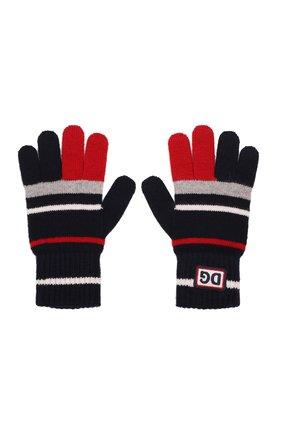 Детские шерстяные перчатки DOLCE & GABBANA разноцветного цвета, арт. LBKA66/JBVE4 | Фото 2 (Материал: Шерсть)