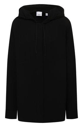 Женский кардиган из вискозы BURBERRY черного цвета, арт. 8044668 | Фото 1 (Материал внешний: Вискоза; Длина (для топов): Удлиненные; Рукава: Длинные; Стили: Кэжуэл; Женское Кросс-КТ: Кардиган-одежда)