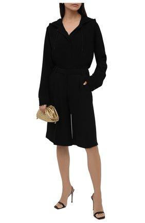Женский кардиган из вискозы BURBERRY черного цвета, арт. 8044668 | Фото 2 (Материал внешний: Вискоза; Длина (для топов): Удлиненные; Рукава: Длинные; Стили: Кэжуэл; Женское Кросс-КТ: Кардиган-одежда)