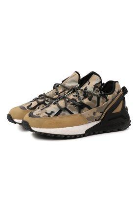 Мужские кроссовки zx 2k boost utility gore-tex ADIDAS ORIGINALS бежевого цвета, арт. H05319   Фото 1 (Материал внешний: Текстиль; Подошва: Массивная; Стили: Спорт)