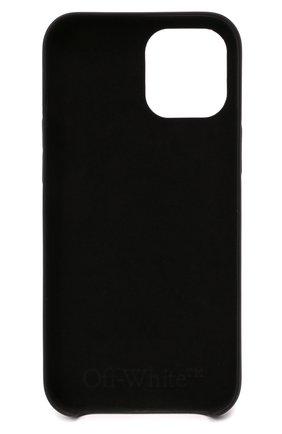 Чехол для iphone 12 pro max OFF-WHITE черного цвета, арт. 0MPA027F21PLA004 | Фото 2