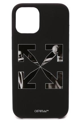 Чехол для iphone 12 pro max OFF-WHITE черного цвета, арт. 0MPA027F21PLA003 | Фото 1