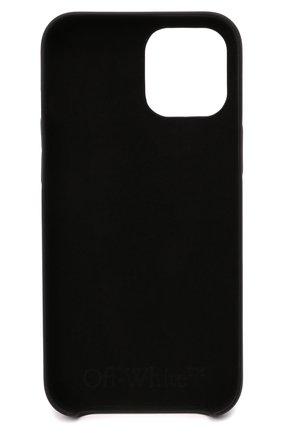 Чехол для iphone 12 pro max OFF-WHITE черного цвета, арт. 0MPA027F21PLA003 | Фото 2