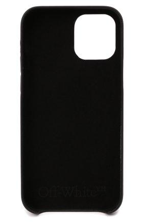 Чехол для iphone 12/12 pro OFF-WHITE черного цвета, арт. 0MPA026F21PLA004   Фото 2