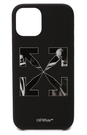 Чехол для iphone 12/12 pro OFF-WHITE черного цвета, арт. 0MPA026F21PLA003   Фото 1