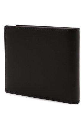 Мужской кожаное портмоне OFF-WHITE черного цвета, арт. 0MNC032F21LEA001   Фото 2