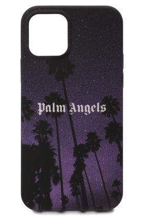 Чехол для iphone 12/12 pro PALM ANGELS фиолетового цвета, арт. PMPA030F21PLA0061001   Фото 1
