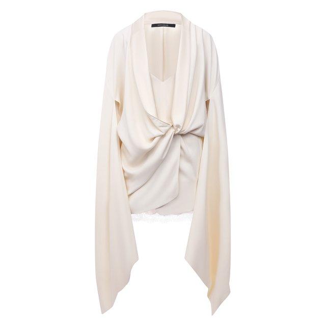 Платье из вискозы и шелка DANIILBERG