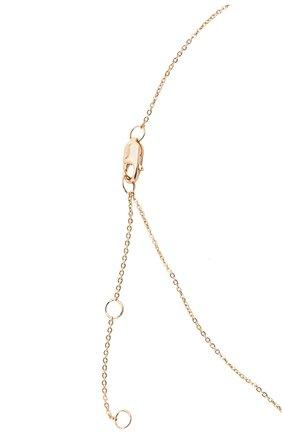 Женское колье J-POINT золотого цвета, арт. ИПГ857.59.230721.15Y   Фото 4 (Материал: Золото)