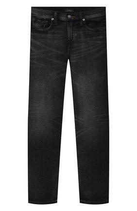 Детские джинсы POLO RALPH LAUREN темно-серого цвета, арт. 323799824 | Фото 1 (Материал внешний: Хлопок)