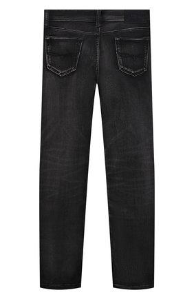 Детские джинсы POLO RALPH LAUREN темно-серого цвета, арт. 323799824 | Фото 2 (Материал внешний: Хлопок)