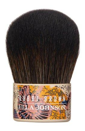 Кисть kabuki brush BOBBI BROWN бесцветного цвета, арт. ETAT-01   Фото 1