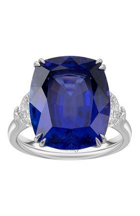 Женские кольцо MERCURY бесцветного цвета, арт. MR24619WDTANZ | Фото 2 (Материал сплава: Белое золото; Драгоценные камни: Другие, Бриллианты)