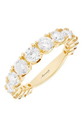 Женские кольцо MERCURY бесцветного цвета, арт. MR12881/RG/15RD | Фото 1 (Материал сплава: Розовое золото; Драгоценные камни: Бриллианты)