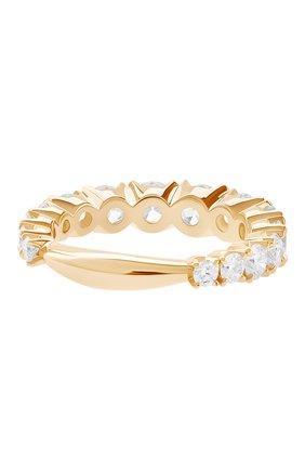 Женские кольцо MERCURY бесцветного цвета, арт. MR12881/RG/15RD | Фото 2 (Материал сплава: Розовое золото; Драгоценные камни: Бриллианты)