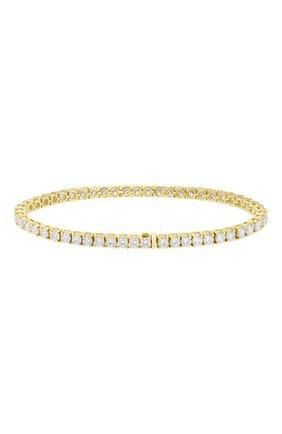 Женский браслет MERCURY бесцветного цвета, арт. MB9781/YG/1RD0.10 | Фото 2 (Материал сплава: Желтое золото; Драгоценные камни: Бриллианты)