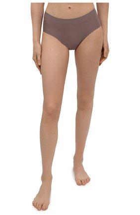 Женские трусы-шорты CHANTELLE бронзового цвета, арт. C26440 | Фото 2 (Материал внешний: Синтетический материал; Женское Кросс-КТ: Трусы)