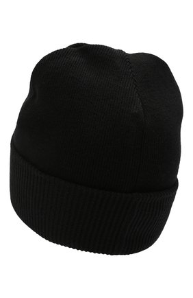 Детского шапка BOSS черного цвета, арт. J21240 | Фото 2 (Материал: Текстиль, Синтетический материал)