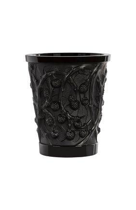 Ваза mures LALIQUE черного цвета, арт. 10746100   Фото 1