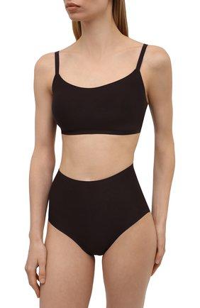 Женские трусы-шорты CHANTELLE коричневого цвета, арт. C26470 | Фото 2 (Материал внешний: Синтетический материал)