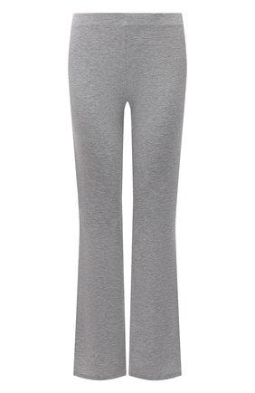 Женские брюки AUBADE серого цвета, арт. TL60 | Фото 1 (Материал внешний: Синтетический материал; Длина (брюки, джинсы): Стандартные)