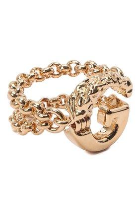 Женское кольцо alphabet g CHLOÉ золотого цвета, арт. CHC21SFR0GCB7 | Фото 1 (Материал: Металл)