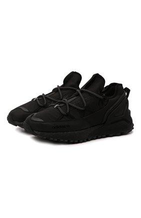 Мужские кроссовки zx 2k boost utility gore-tex ADIDAS ORIGINALS черного цвета, арт. G54896   Фото 1 (Материал внешний: Текстиль; Материал внутренний: Текстиль; Подошва: Массивная; Стили: Спорт)