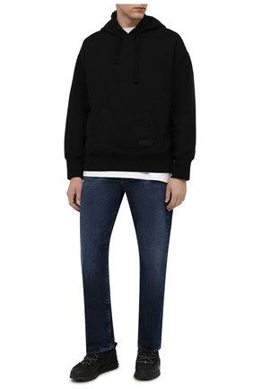 Мужские кроссовки zx 2k boost utility gore-tex ADIDAS ORIGINALS черного цвета, арт. G54896   Фото 2 (Материал внешний: Текстиль; Материал внутренний: Текстиль; Подошва: Массивная; Стили: Спорт)