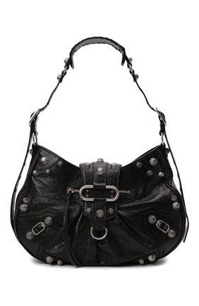 Женская сумка cagole m BALENCIAGA черного цвета, арт. 672754/1VG9Y | Фото 1 (Материал: Натуральная кожа; Размер: medium; Ремень/цепочка: На ремешке; Сумки-технические: Сумки top-handle)