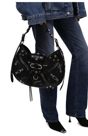 Женская сумка cagole m BALENCIAGA черного цвета, арт. 672754/1VG9Y | Фото 2 (Материал: Натуральная кожа; Размер: medium; Ремень/цепочка: На ремешке; Сумки-технические: Сумки top-handle)
