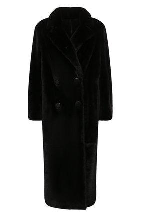 Женская шуба из меха норки KUSSENKOVV черного цвета, арт. 702800002576 | Фото 1 (Длина (верхняя одежда): Длинные; Материал внешний: Натуральный мех; Рукава: Длинные; Стили: Гламурный; Женское Кросс-КТ: Мех)