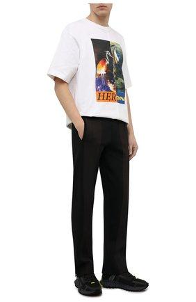 Мужские кроссовки zig kinetica edge REEBOK черного цвета, арт. GY3576   Фото 2 (Материал внешний: Текстиль; Стили: Спорт; Подошва: Массивная)
