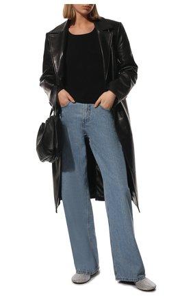 Женские кожаные сабо dot BOTTEGA VENETA разноцветного цвета, арт. 667187/V15G1 | Фото 2 (Материал внутренний: Натуральная кожа; Подошва: Плоская; Каблук высота: Низкий)