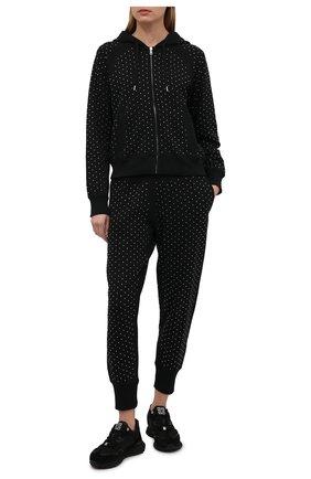 Женский хлопковый кардиган с отделкой стразами POLO RALPH LAUREN черного цвета, арт. 211846860 | Фото 2 (Длина (для топов): Стандартные; Материал внешний: Хлопок; Рукава: Длинные; Женское Кросс-КТ: Кардиган-одежда; Стили: Спорт-шик)