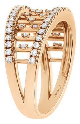 Женские кольцо MERCURY бесцветного цвета, арт. MR25458/RG/SM | Фото 2 (Драгоценные камни: Бриллианты; Материал сплава: Розовое золото)