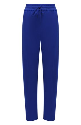 Женские брюки TOM FORD синего цвета, арт. PAK043-YAX311 | Фото 1 (Материал внешний: Синтетический материал, Шелк; Длина (брюки, джинсы): Стандартные; Женское Кросс-КТ: Брюки-одежда; Силуэт Ж (брюки и джинсы): Прямые; Стили: Спорт-шик)