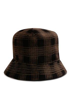 Женская шляпа из меха норки KUSSENKOVV коричневого цвета, арт. 150110003043   Фото 1 (Материал: Натуральный мех)