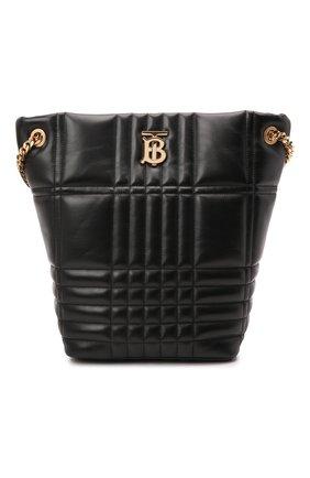 Женская сумка lola medium BURBERRY черного цвета, арт. 8046237 | Фото 1 (Материал: Натуральная кожа; Размер: medium; Сумки-технические: Сумки top-handle)