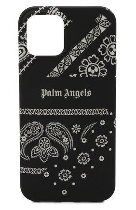 Чехол для iphone 12 pro max PALM ANGELS черного цвета, арт. PMPA031F21PLA0021003 | Фото 1