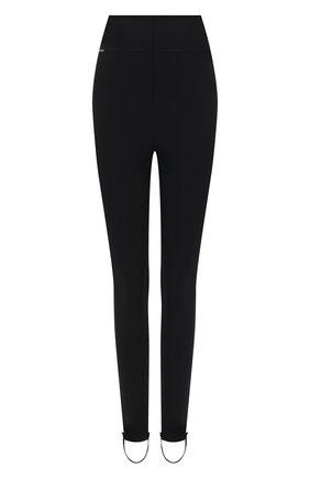 Женские леггинсы из вискозы DOLCE & GABBANA черного цвета, арт. FTB86T/GDAB0 | Фото 1 (Материал внешний: Вискоза; Длина (брюки, джинсы): Стандартные; Стили: Спорт-шик; Женское Кросс-КТ: Леггинсы-одежда)