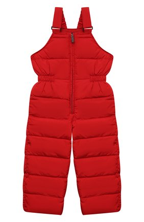 Детский пуховый комбинезон IL GUFO красного цвета, арт. A21ST007N0031/5A-8A   Фото 1 (Материал внешний: Синтетический материал; Материал утеплителя: Пух и перо; Материал подклада: Синтетический материал; Кросс-КТ: Сезон: зима; Мальчики Кросс-КТ: Комбинезон-верхняя одежда; Рукава: Короткие)