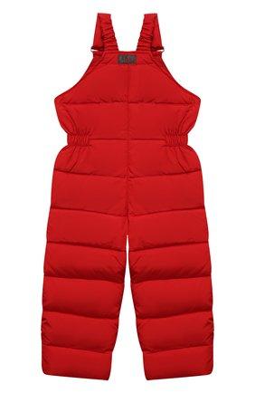 Детский пуховый комбинезон IL GUFO красного цвета, арт. A21ST007N0031/5A-8A   Фото 2 (Материал внешний: Синтетический материал; Материал утеплителя: Пух и перо; Материал подклада: Синтетический материал; Кросс-КТ: Сезон: зима; Мальчики Кросс-КТ: Комбинезон-верхняя одежда; Рукава: Короткие)