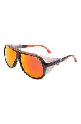 Мужские солнцезащитные очки CARRERA оранжевого цвета, арт. HYPERFIT 21 RTC | Фото 1 (Тип очков: С/з; Оптика Гендер: оптика-мужское)