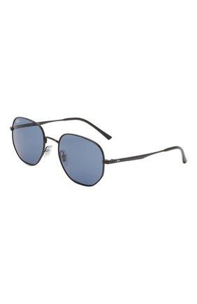 Женские солнцезащитные очки RAY-BAN синего цвета, арт. 3682-002/80 | Фото 1 (Тип очков: С/з; Очки форма: Круглые; Оптика Гендер: оптика-унисекс)