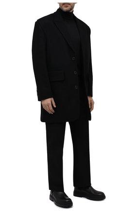 Мужские кожаные челси BOGNER черного цвета, арт. 12141641/CHESA ALPINA M 3 | Фото 2 (Материал внутренний: Натуральная кожа; Мужское Кросс-КТ: Сапоги-обувь, Челси-обувь; Подошва: Массивная)