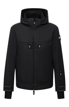 Мужская утепленная куртка GIORGIO ARMANI темно-синего цвета, арт. 1WG0B06G/T0316   Фото 1 (Рукава: Длинные; Длина (верхняя одежда): Короткие; Материал внешний: Шерсть; Материал подклада: Синтетический материал; Кросс-КТ: Куртка, Деним; Мужское Кросс-КТ: утепленные куртки; Стили: Кэжуэл)